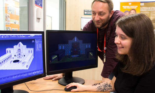 Partnership is next level for games design students