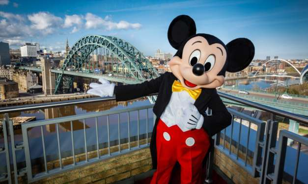 A double celebration for Mickey Mouse and the Tyne Bridge