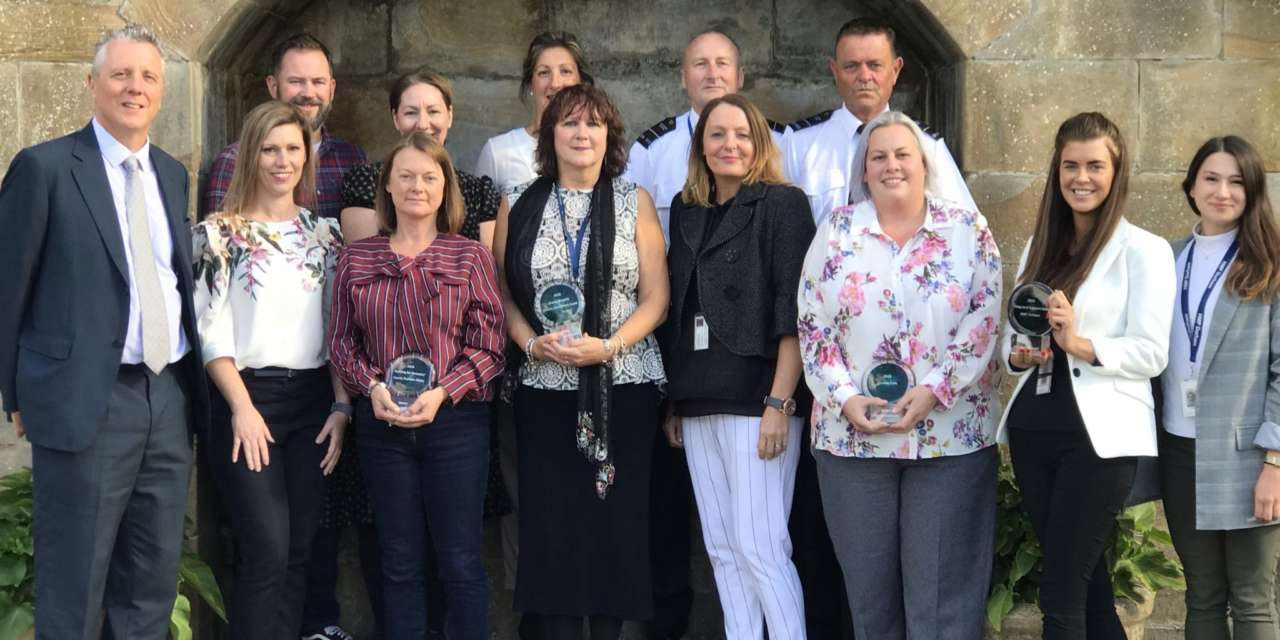 Awards for crime reduction presented by north east charity Nepacs