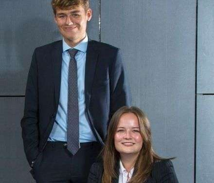 Bethany And Robert Takes Legal Traineeships At Hay & Kilner
