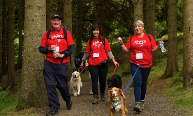 Walk for Wag at Kielder and help to reduce loneliness in our region's older people