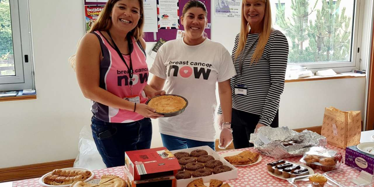 Energy employees organise fundraising day in aid of Breast Cancer Now