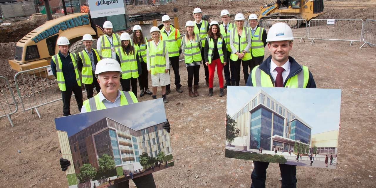 Construction begins on a £39m Newcastle University development