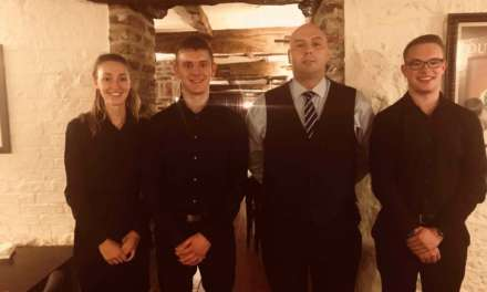 NEW MANAGER TAKES THE HELM AT THE RIB ROOM AT HARDWICK…