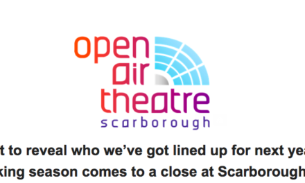 Record breaking summer season at Scarborough Open Air Theatre
