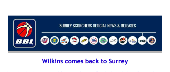 Wilkins comes back to Surrey