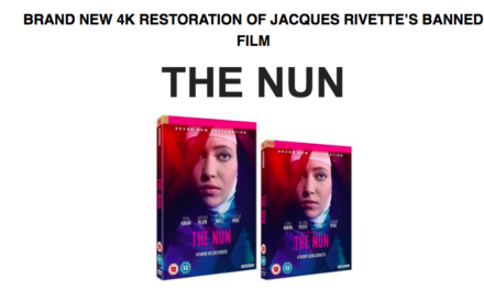 THE NUN / on DVD & Blu-ray for first time in UK / Sept 17