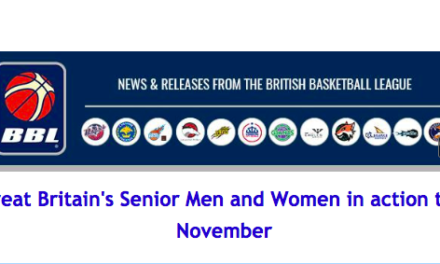Great Britain's Senior Men and Women in action this November