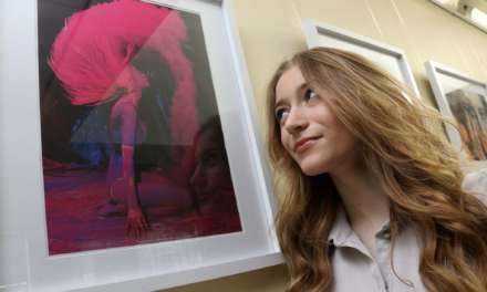 Students show off their art credentials in exhibition