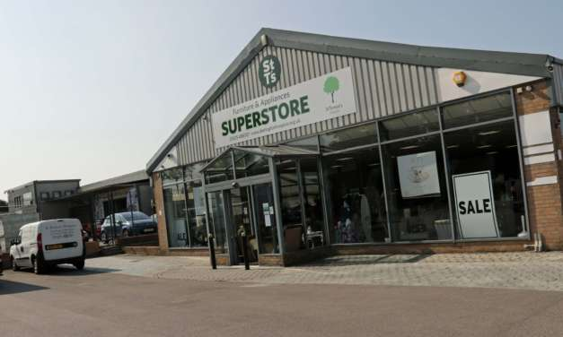 Shock as raiders prey on charity superstore