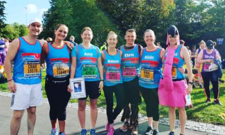 Team Harry runs for epilepsy charity in Great North Run