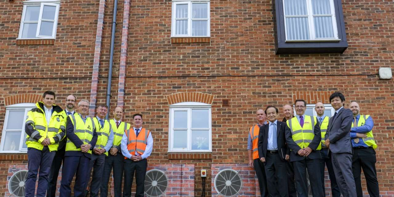 Latest renewable technology to heat Thirteen homes in Whitby