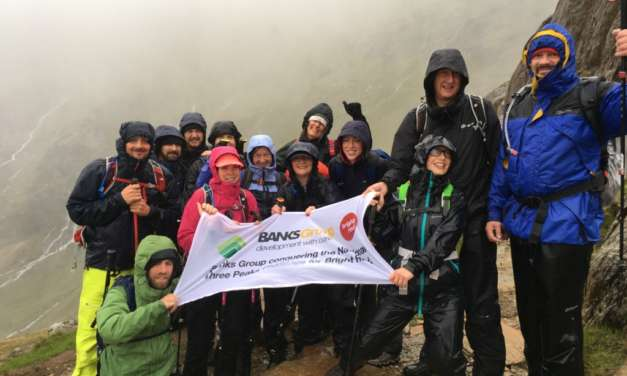 Banks Group Staff Conquer National Three Peaks Charity Challenge