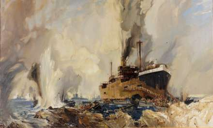 Exhibition shines a light  on maritime artist
