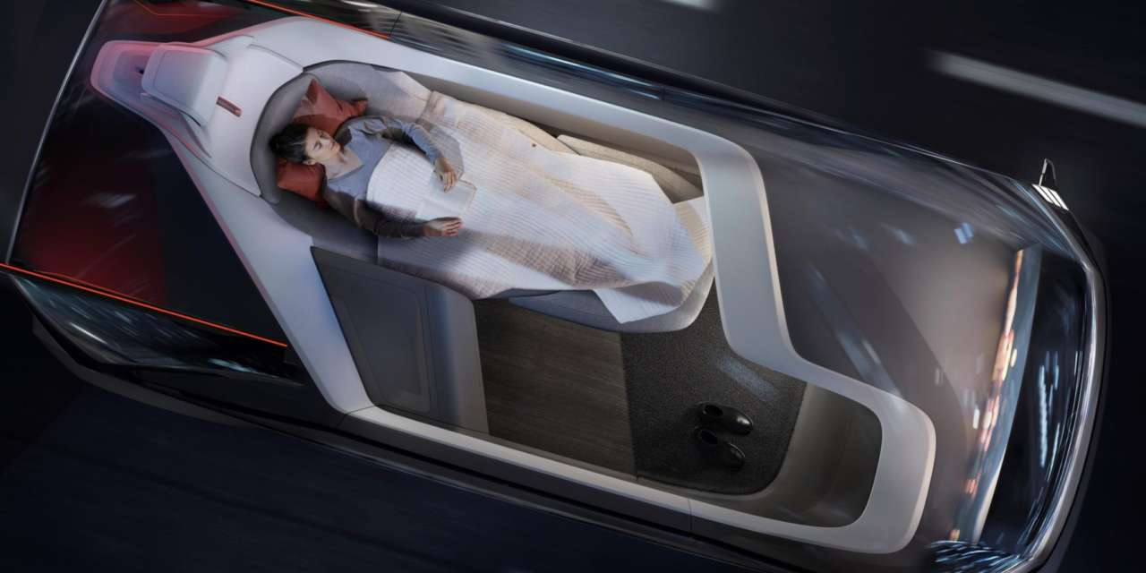 VOLVO CARS' NEW 360c AUTONOMOUS CONCEPT: WHY FLY WHEN YOU CAN BE DRIVEN?