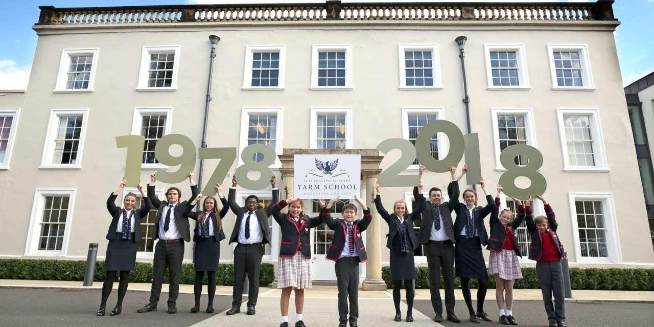 YARM SCHOOL CELEBRATES FORTY YEARS