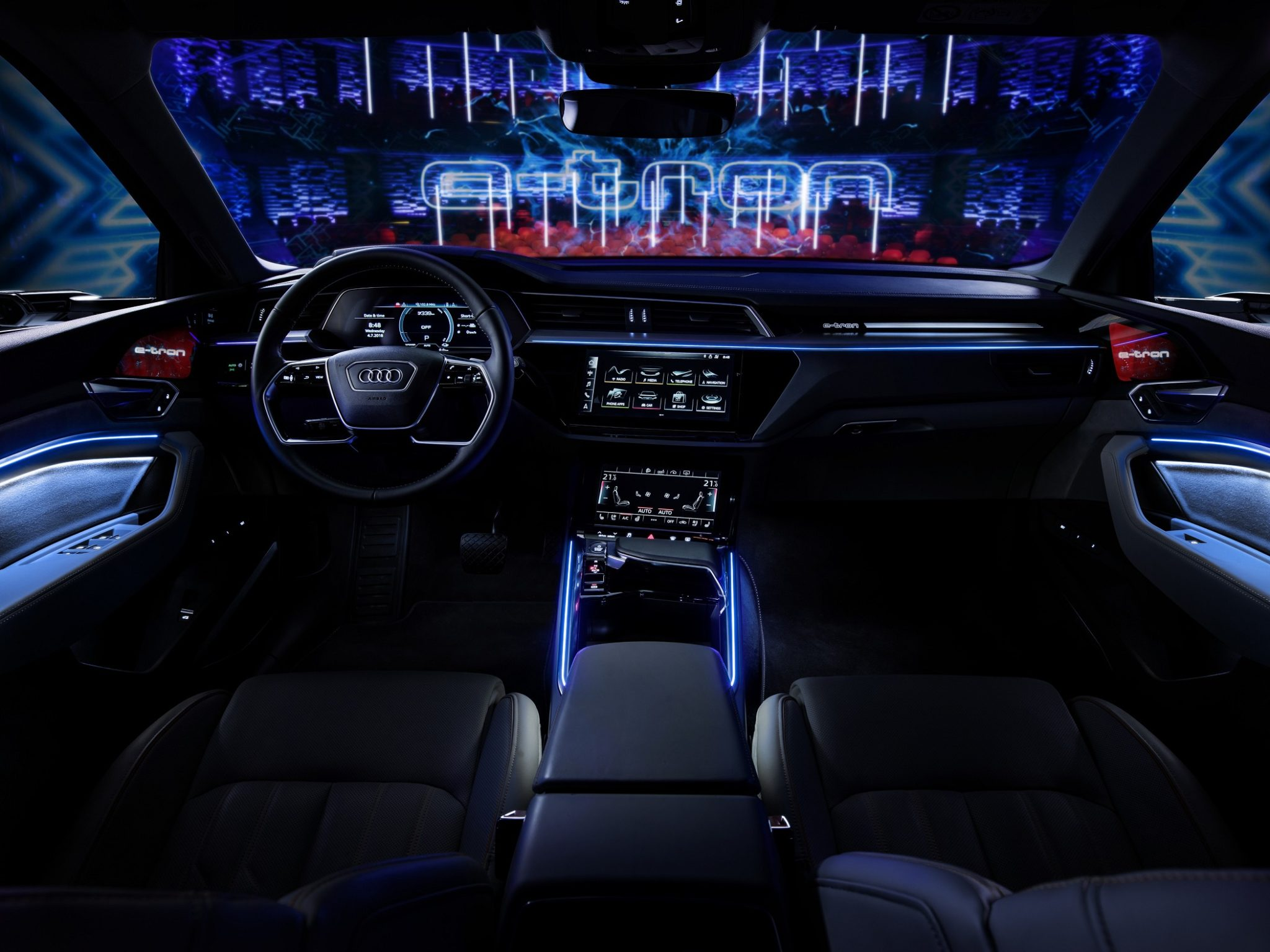 YOUR WISH IS MY COMMAND – AMAZON ALEXA COMES TO THE NEW AUDI E-TRON