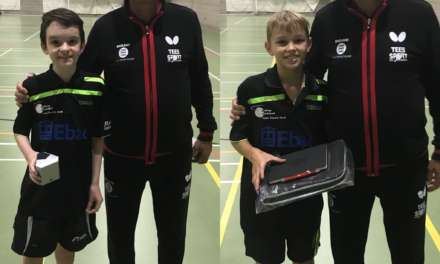 England call for young Table Tennis players