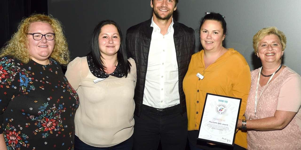 Care homes scoop award for helping teens become top citizens