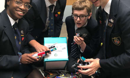 Students on  mission to turn old pens into useful objects