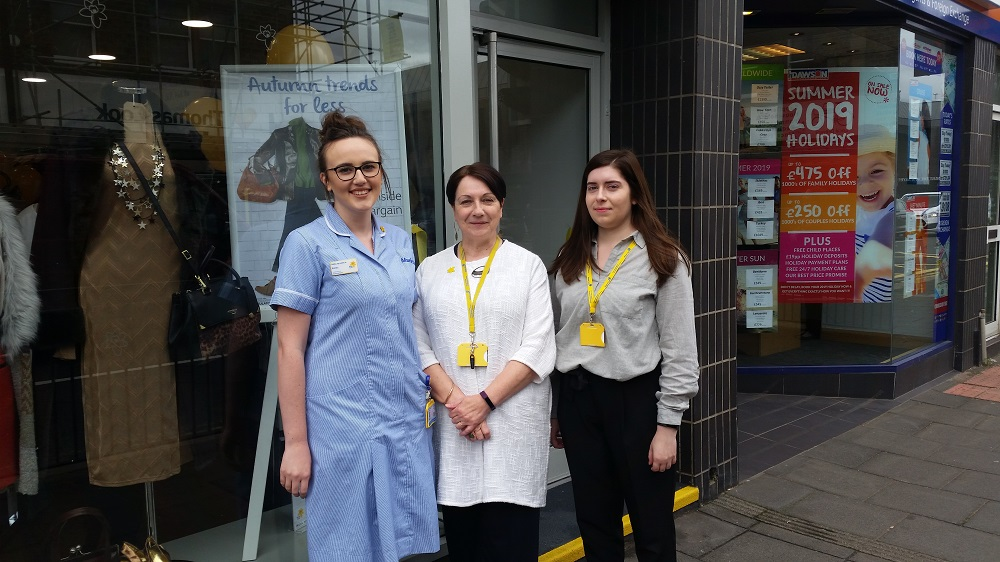 Marie Curie opens new shop in Gosforth