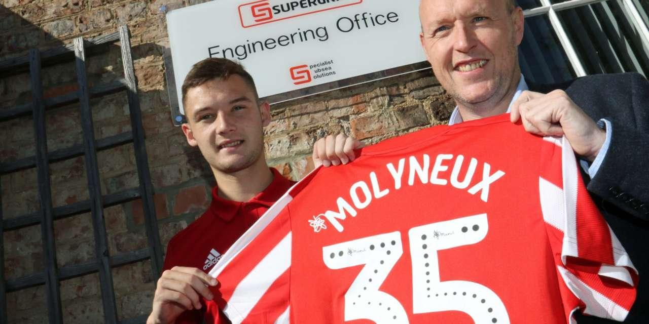 Subsea company are on the ball with SAFC player sponsorship