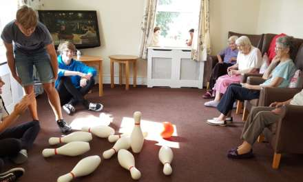 Care home residents befriend Magpies' NCS teens