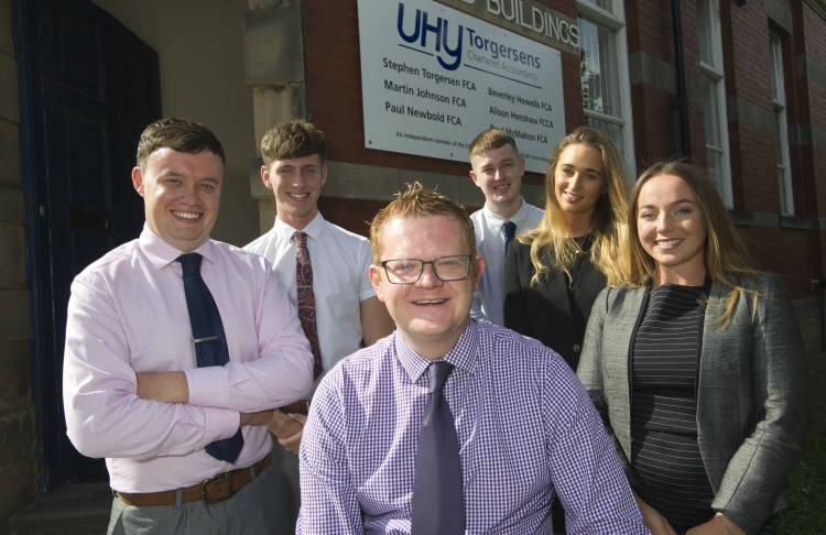 Apprenticeships help North East accountancy company grow