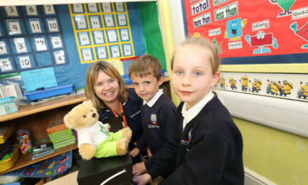 Primary school pupils battle the bugs for International Infection Prevention Week with Nuffield Health