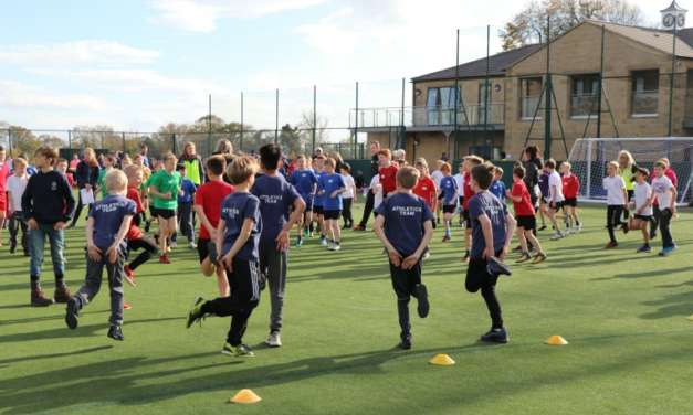 Running for Richmondshire – 800 primary students get on track