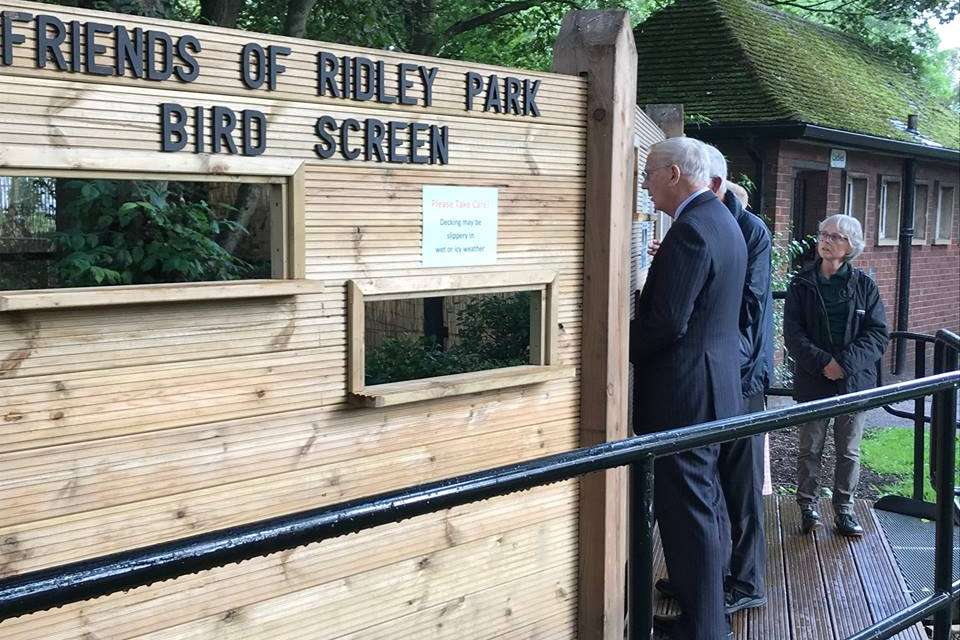 Local charity's community project receives Royal seal of approval