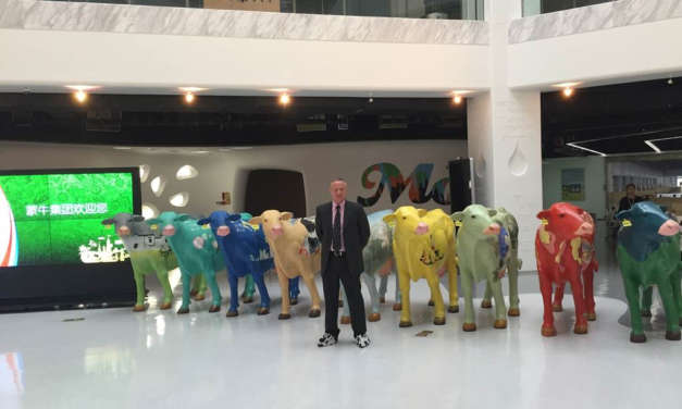 Chinese dairy giant sources Sunderland research for global expansion plans