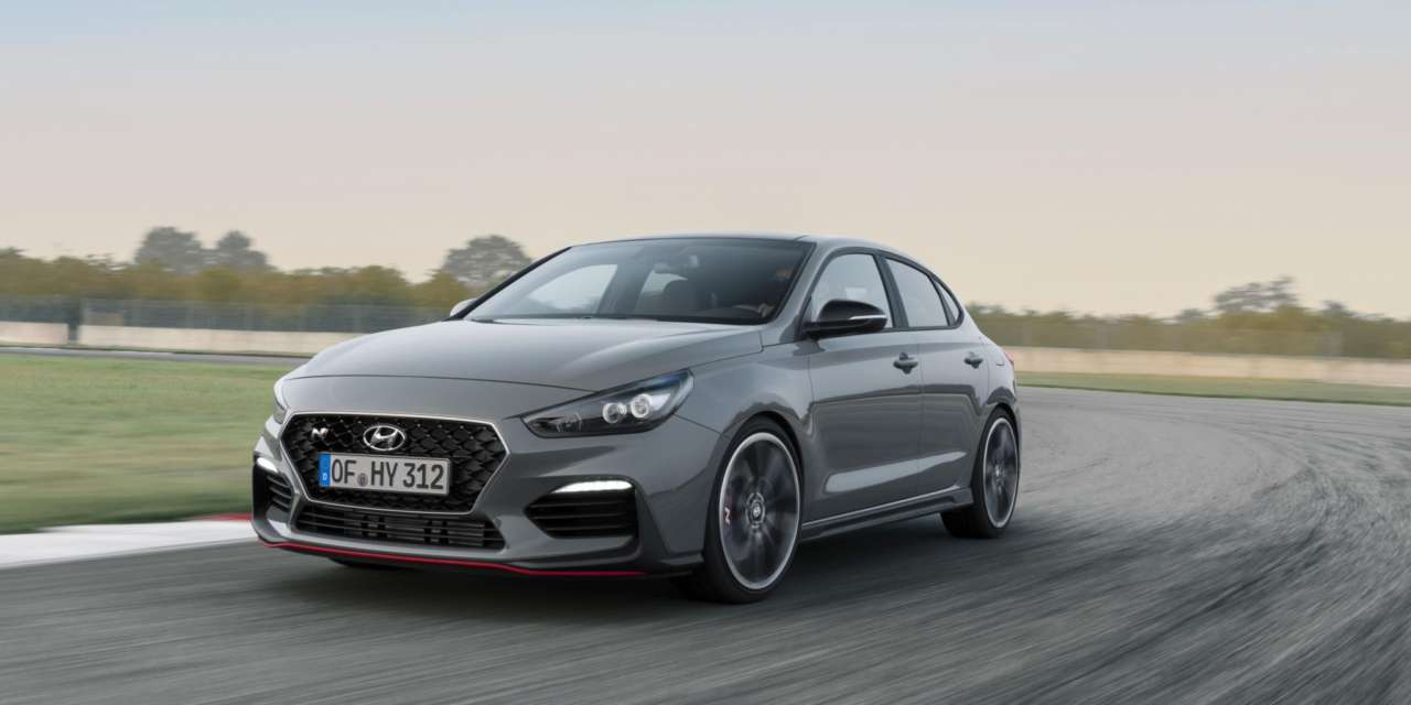 ALL-NEW HYUNDAI i30 FASTBACK N: HOT COUPE DESIGN WITH N DRIVING FUN