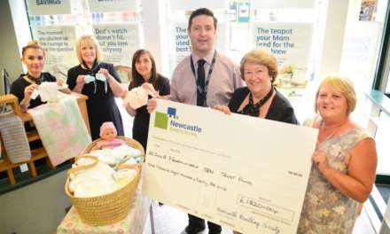 Building Society supports local hospital