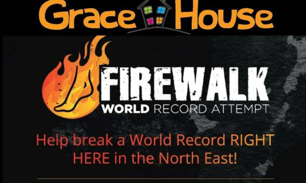 Grace House Firewalk World Record Attempt!