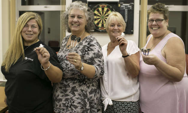 Beck Hole ladies hit the bullseye with new darts team