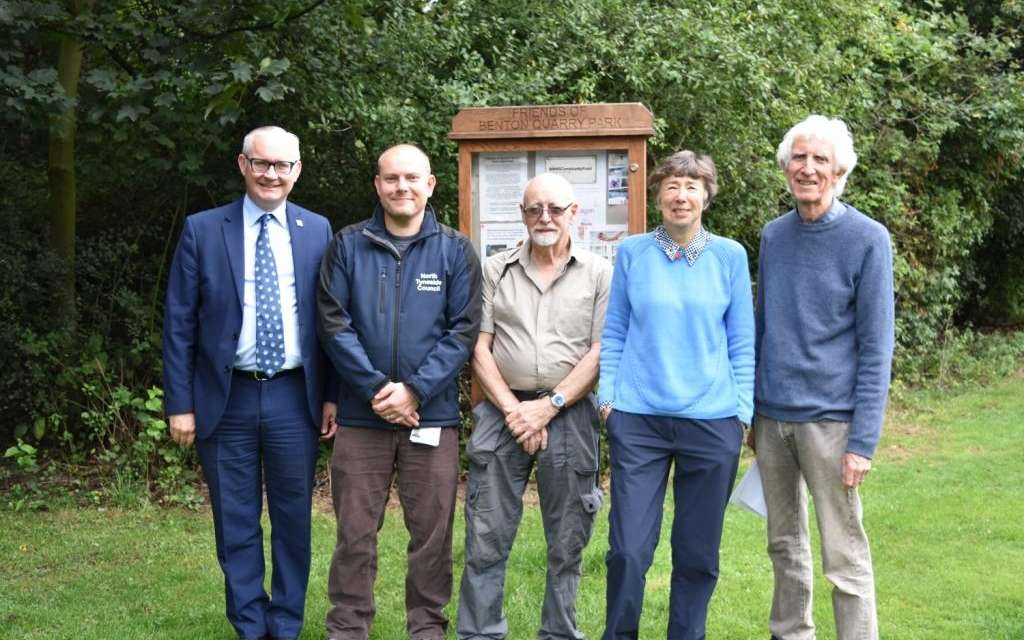 New Lease Of Life For Benton Quarry Park As Friends Group Completes Revival Project