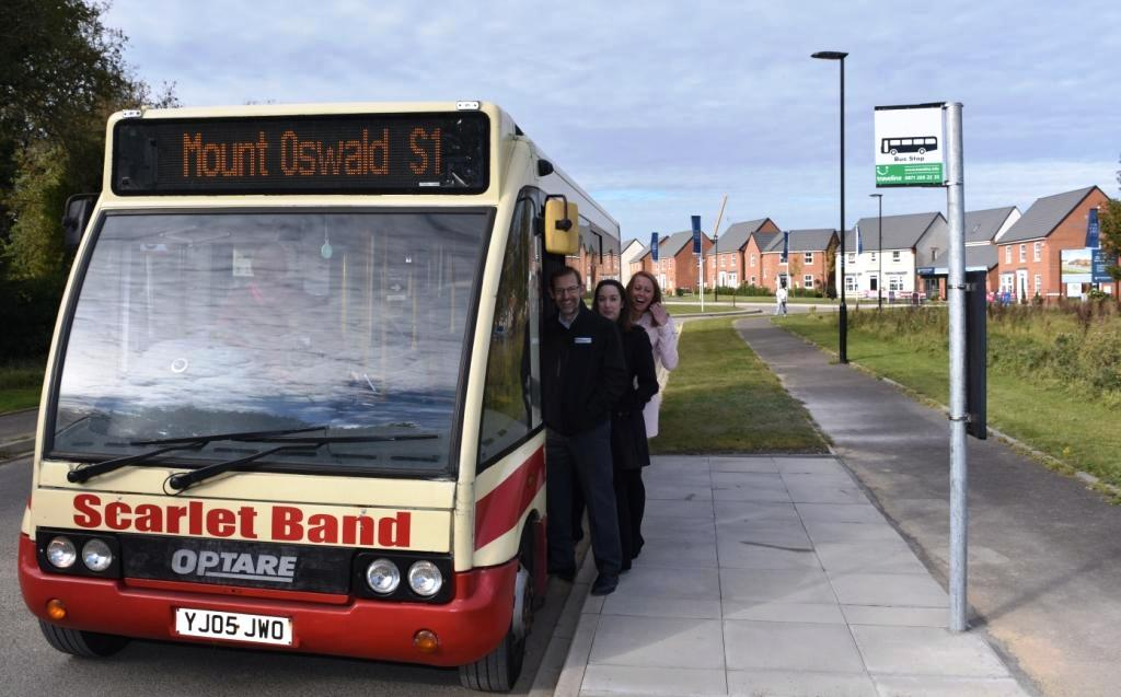 Bus Route Extends Into Mount Oswald Estate To Enhance Local Sustainable Travel Options