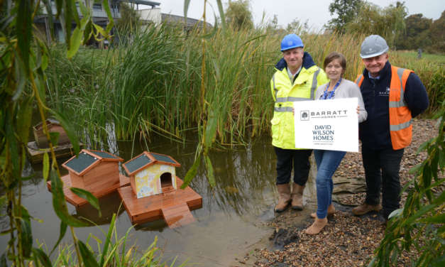 New duck development opened for St. Benedict's Hospice