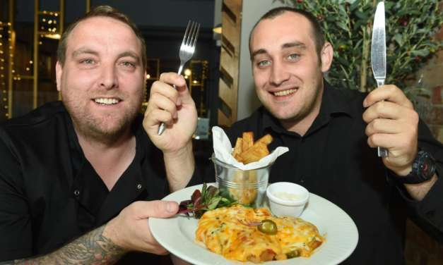 PARMO POWER COMES TO THE FORK IN THE ROAD