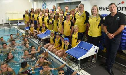 CHARITY HELPS SWIMMING CLUB SPLASH OUT