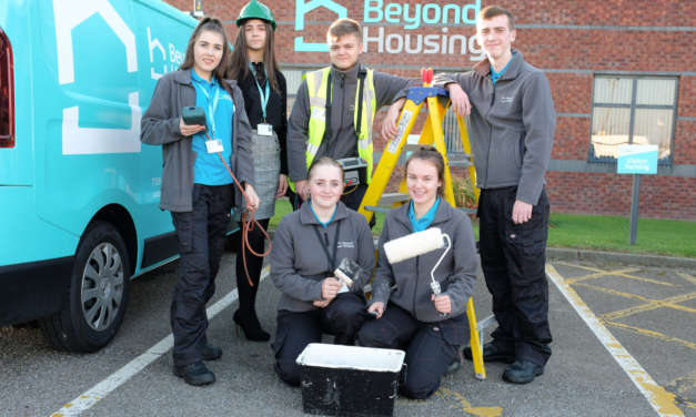 Beyond Housing celebrates apprentice success