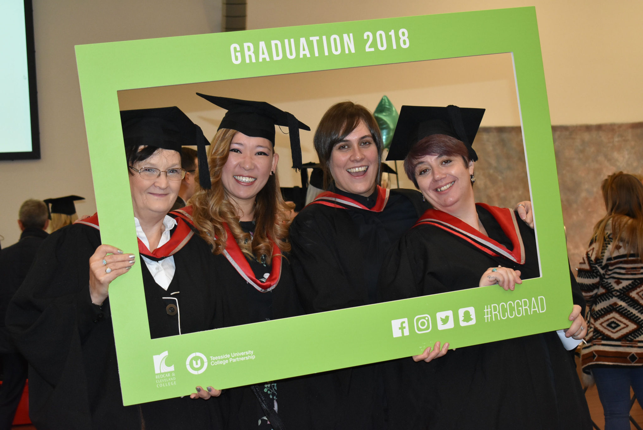 Graduation ceremony celebrates student success in Redcar