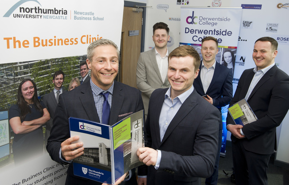 Business students help Derwentside College maximise its distance learning service