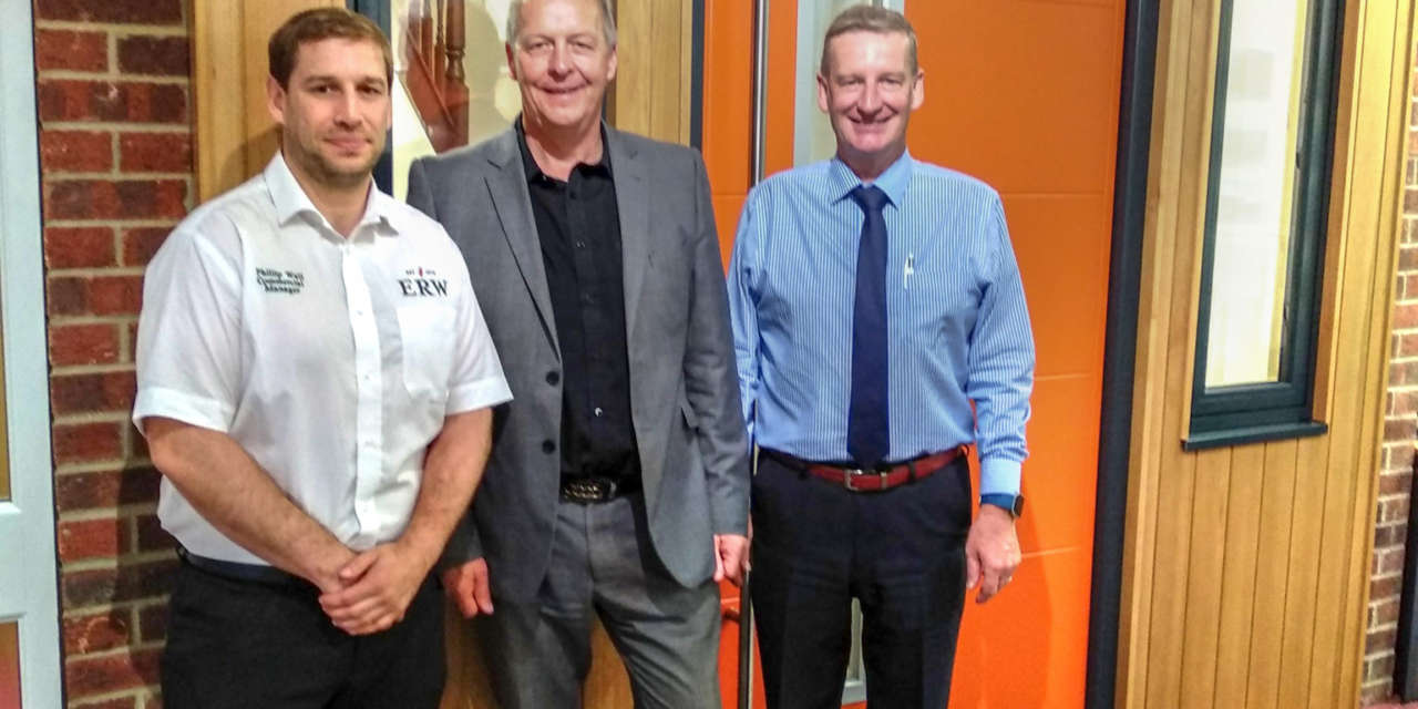 ERW appointed as sole AluWood provider for the north-east