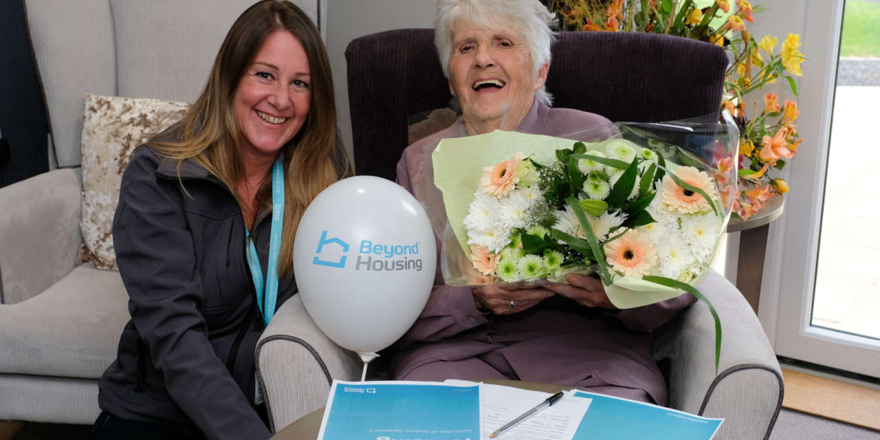 BEYOND HOUSING WELCOMES FIRST TENANTS