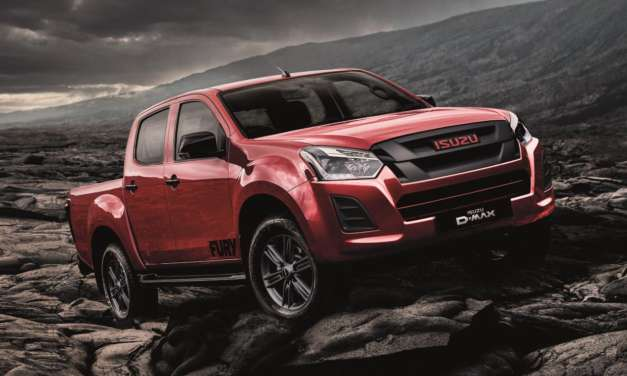 THE NEW ISUZU D-MAX FURY, SOON TO BE UNLEASHED