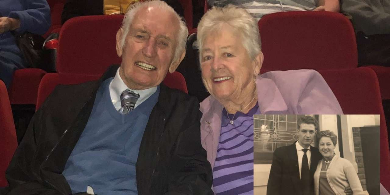 Cinema trip recreates first date after 60 years