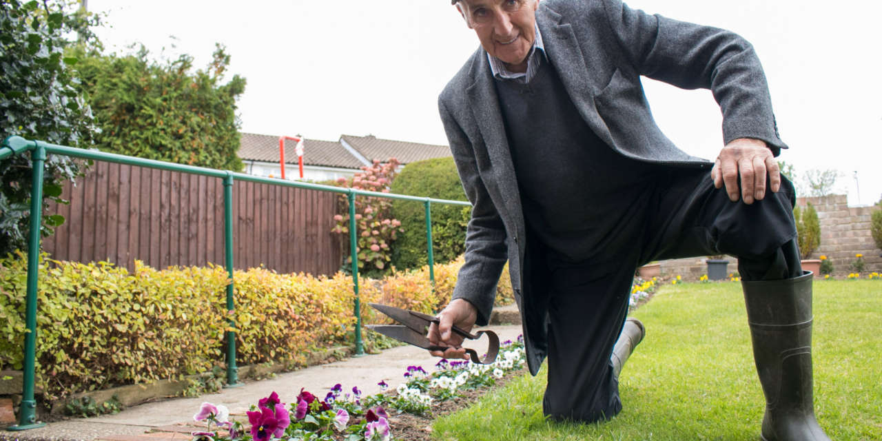 Beyond Housing customer wins top gardening award