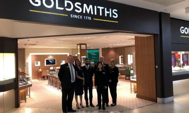 Goldsmiths unveils sparkling new intu Eldon Square showroom